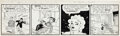 Al Capp Li'l Abner Daily Comic Strip Original Art dated 5-22-45 (United Feature  Comic Art