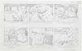 "Original Comic Art:Miscellaneous, Jack Kirby Fantastic Four ""The Menace of Magneto"" Storyboard#31 Original Animation Art (DePatie-Freleng, 1978)...."