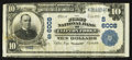 National Bank Notes:Virginia, Clifton Forge, VA - $10 1902 Plain Back Fr. 634 The First NB Ch. #(S)6008. ...