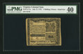 Colonial Notes:Virginia, Virginia July 17, 1775 1s/3d PMG Extremely Fine 40.. ...