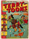 Golden Age (1938-1955):Funny Animal, Terry-Toons Comics #1 (Timely, 1942) Condition: GD/VG....