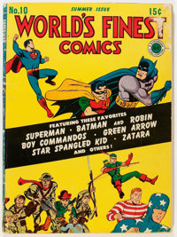 World's Finest Comics #10 (DC, 1943) Condition: VG/FN