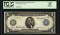 Large Size:Federal Reserve Notes, Fr. 850* $5 1914 Federal Reserve Note PCGS Apparent Very Fine 25.. ...