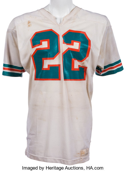 the latest ab294 7109c 1973-75 Mercury Morris Game Worn Miami Dolphins Jersey ...