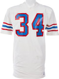 Football Collectibles:Uniforms, 1978-82 Earl Campbell Game Issued Houston Oilers Jersey....