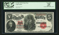Large Size:Legal Tender Notes, Fr. 89* $5 1907 Legal Tender PCGS Apparent Very Fine 25.. ...