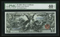 Large Size:Silver Certificates, Fr. 270 $5 1896 Silver Certificate PMG Extremely Fine 40 EPQ.. ...