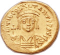 Ancients:Byzantine, Ancients: Tiberius II Constantine (AD 578-582). AV solidus (22mm,4.42 gm, 6h)....
