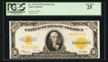 Large Size:Gold Certificates, Fr. 1173* $10 1922 Gold Certificate PCGS Very Fine 25.. ...