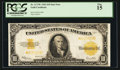 Large Size:Gold Certificates, Fr. 1173* $10 1922 Gold Certificate PCGS Fine 15.. ...