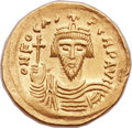 Ancients:Byzantine, Ancients: Phocas (AD 602-610). AV solidus (22mm, 4.48 gm, 7h). ...