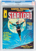 Magazines:Science-Fiction, Marvel Preview #4 Star-Lord (Marvel, 1976) CGC NM 9.4 White pages....