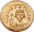 Ancients:Byzantine, Ancients: Phocas (AD 602-610). AV solidus (22mm, 4.45 gm,6h). ...