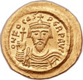Ancients:Byzantine, Ancients: Phocas (AD 602-610). AV solidus (23mm, 4.50 gm,7h). ...