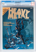Magazines:Science-Fiction, Heavy Metal #1 (HM Communications, 1977) CGC NM/MT 9.8 Off-white towhite pages....