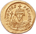 Ancients:Byzantine, Ancients: Phocas (AD 602-610). AV solidus (22mm, 4.52 gm,7h). ...