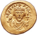 Ancients:Byzantine, Ancients: Phocas (AD 602-610). AV solidus (22mm, 4.43 gm,7h). ...