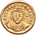 Ancients:Byzantine, Ancients: Phocas (AD 602-610). AV solidus (18mm, 4.51 gm,6h). ...