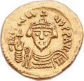 Ancients:Byzantine, Ancients: Revolt of the Heraclii (AD 608-610). AV solidus (22mm,4.39 gm, 6h)....