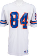 Football Collectibles:Uniforms, 1987-88 Ricky Nattiel Game Worn Denver Broncos Jersey, MEARS 10....