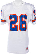 Football Collectibles:Uniforms, 1990 Bobby Humphrey Game Worn Denver Broncos Jersey, MEARS A10. ...