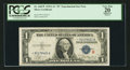 Small Size:Silver Certificates, Fr. 1609* $1 1935A R Silver Certificate. PCGS Apparent Very Fine 20.. ...