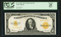 Large Size:Gold Certificates, Fr. 1173* $10 1922 Mule Gold Certificate PCGS Apparent Very Fine 20.. ...