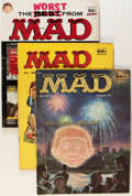 Magazines:Mad, Mad Magazine Group (EC, 1957-60) Condition: Average VG/FN....(Total: 17 Comic Books)