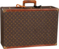 "Luxury Accessories:Travel/Trunks, Louis Vuitton Classic Monogram Canvas Hardsided Trunk. Fair toGood Condition. 28.5"" Width x 8.5"" Height x 16.5""Depth..."
