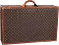 "Luxury Accessories:Travel/Trunks, Louis Vuitton Classic Monogram Canvas Alzer 80 Hardsided Trunk.Fair to Good Condition. 31.5"" Width x 9"" Height x 20""..."