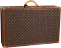 "Luxury Accessories:Travel/Trunks, Louis Vuitton Classic Monogram Canvas Alzer 75 Hardsided Trunk.Good to Very Good Condition. 29.5"" Width x 8.5""Height..."