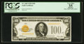 Small Size:Gold Certificates, Fr. 2405 $100 1928 Gold Certificate. PCGS Apparent Very Fine 35.. ...
