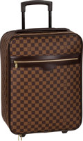 "Luxury Accessories:Travel/Trunks, Louis Vuitton Damier Ebene Canvas Pegase 50 Suitcase. ExcellentCondition. 14"" Width x 18"" Height x 7"" Depth. ..."