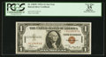 Small Size:World War II Emergency Notes, Fr. 2300* $1 1935A Hawaii Silver Certificate Star. PCGS Apparent Very Fine 35.. ...