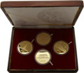 China:People's Republic of China, China: People's Republic of China. Four-piece gold 400 Yuan Proof Set 1979,... (Total: 4 coins)
