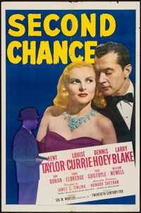 """Second Chance (20th Century Fox, 1947). One Sheet (27"""" X 41""""). Crime"""