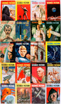 Books:Pulps, [Pulps]. Twenty Issues of Astounding Science Fiction.1951-1952. Octavos. Original printed wrappers. Mild rubbing an...(Total: 20 Items)