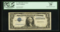 Error Notes:Inverted Third Printings, Fr. 1608 $1 1935A Silver Certificate. PCGS Very Fine 20.. ...