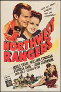 "Movie Posters:Adventure, Northwest Rangers (MGM, 1942). One Sheet (27"" X 41""). Adventure....."