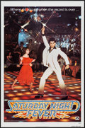 "Movie Posters:Drama, Saturday Night Fever (Paramount, 1977). One Sheet (27"" X 41"") Advance. Drama.. ..."