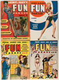 Magazines:Humor, Army and Navy Fun Parade File Copy Short Box Group (Fun Parade,1940s-50s) Condition: Average VF....