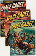 Golden Age (1938-1955):Science Fiction, Tom Corbett Space Cadet Group (Dell, 1953-54) Condition: AverageVG/FN.... (Total: 7 Comic Books)