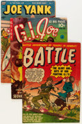 Golden Age (1938-1955):War, Golden Age War Related Comics Group (Various Publishers, 1940s-50s)Condition: Average VG-.... (Total: 9 Comic Books)