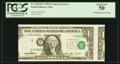 Fr. 1918-F* $1 1993 Federal Reserve Note. PCGS About New 50