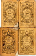 Books:Americana & American History, [Almanac]. Group of Four Copies of Robert Thomas' Old Farmer'sAlmanac. Boston: The Old Farmer's Almanac, Inc., 1922...(Total: 4 Items)
