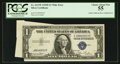 Error Notes:Gutter Folds, Fr. 1613W $1 1935D Silver Certificate. PCGS Choice About New 55.. ...