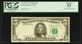 Error Notes:Obstruction Errors, Fr. 1974-G $5 1977 Federal Reserve Note. PCGS About New 53.. ...