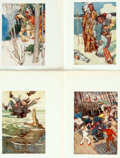 Books:Prints & Leaves, [Peter Pan]. Group of Thirteen Color Plates Taken From The PeterPan Picture Book. Alice B. Woodward and Daniel O'...