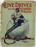 """Baseball Collectibles:Publications, 1910 """"Line Drives At the Pittsburgh Pirates"""" Championship Program/Booklet...."""