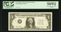 Error Notes:Inking Errors, Fr. 1928-A* $1 2003 Federal Reserve Note. PCGS Choice About New 58PPQ.. ...